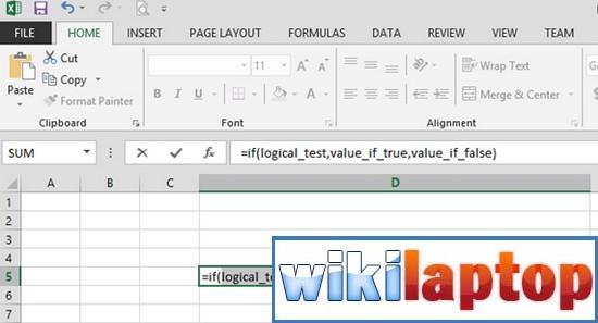 Hiển thị các đối số của hàm trong Excel