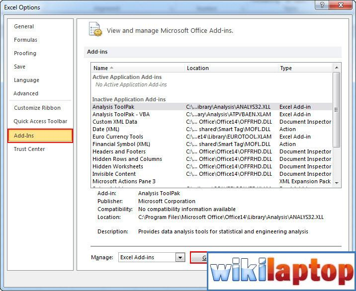 install-and-go-add-in-excel-2010-2