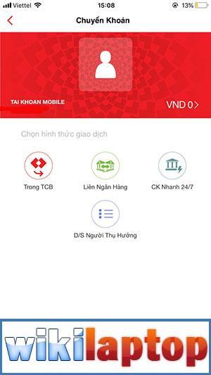 Giao diện chính của ứng dụng Fast Mobile