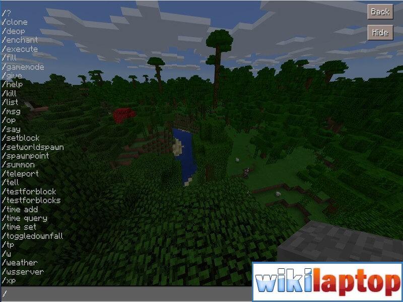 Lệnh Game Minecraft