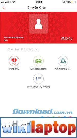 Giao diện chính của Fast Mobile