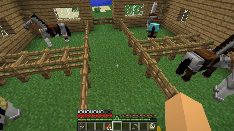 Ngựa mob trong Minecraft