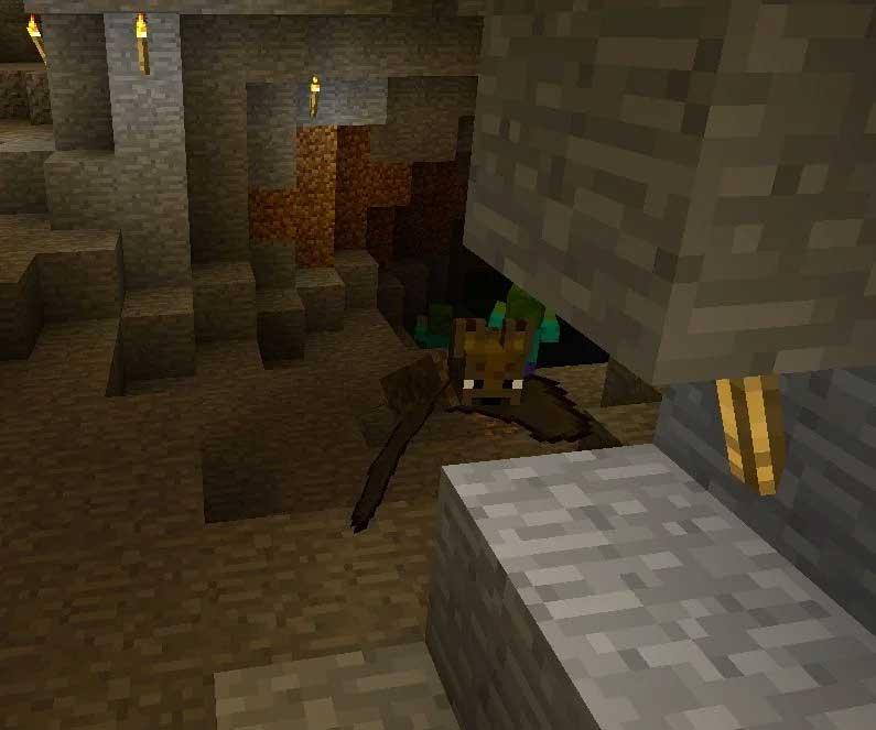 Bat mob trong Minecraft