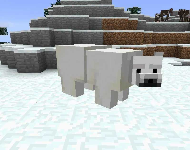 Gấu mob trong Minecraft