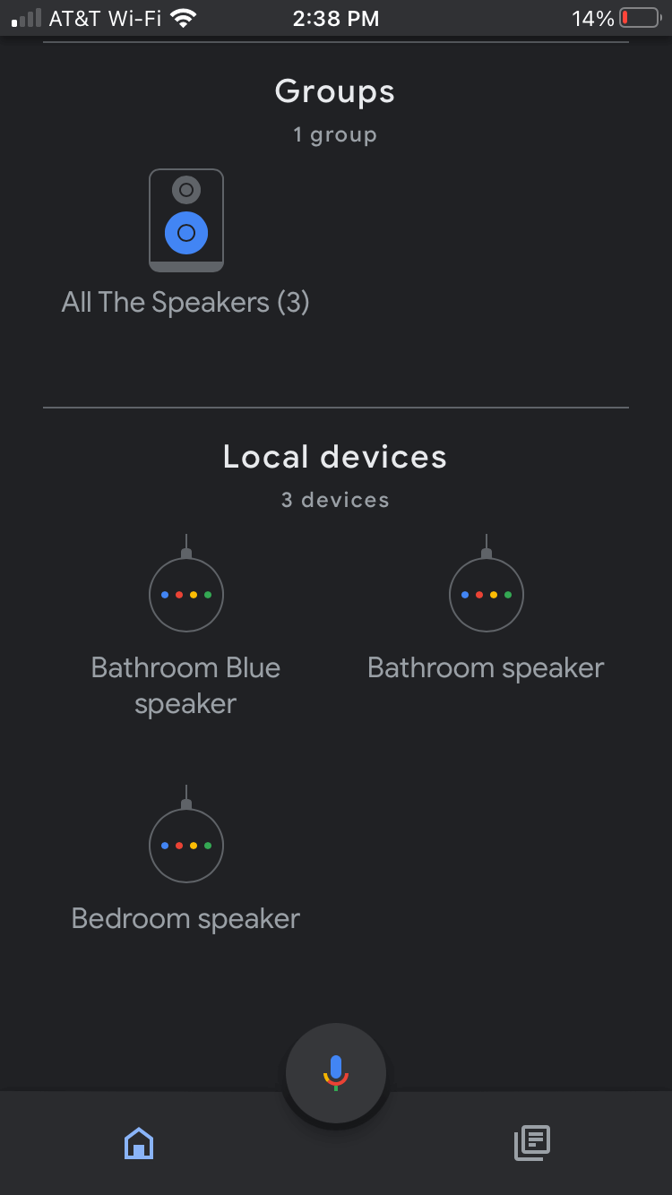 Kết nối lại Google Home với Wi-Fi