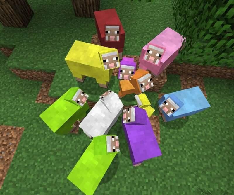 Mob cừu trong Minecraft