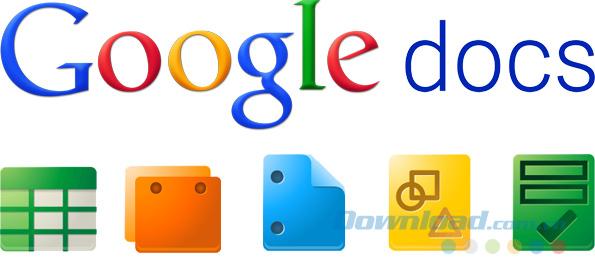 Phím tắt của Google Tài liệu