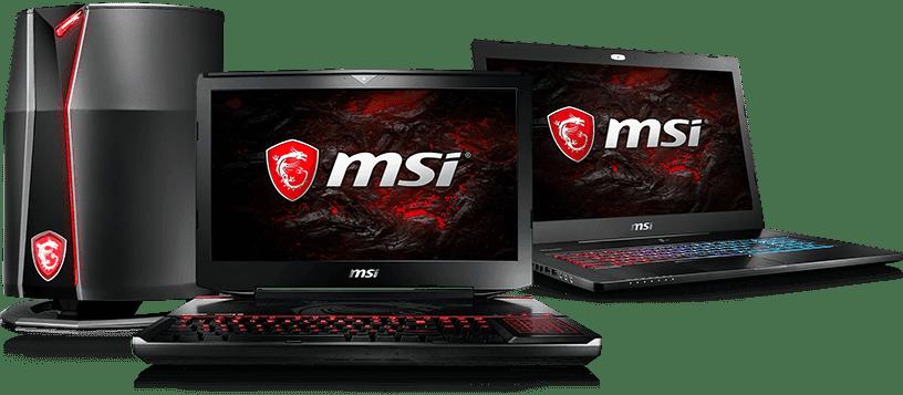 Laptop MSI - Laptop dành cho các Game thủ