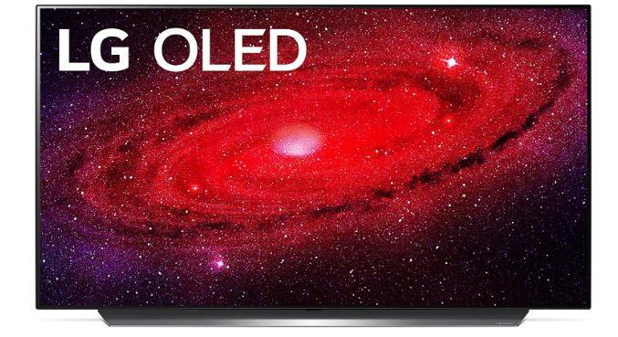 LG OLED48CXPUB.  Màn hình